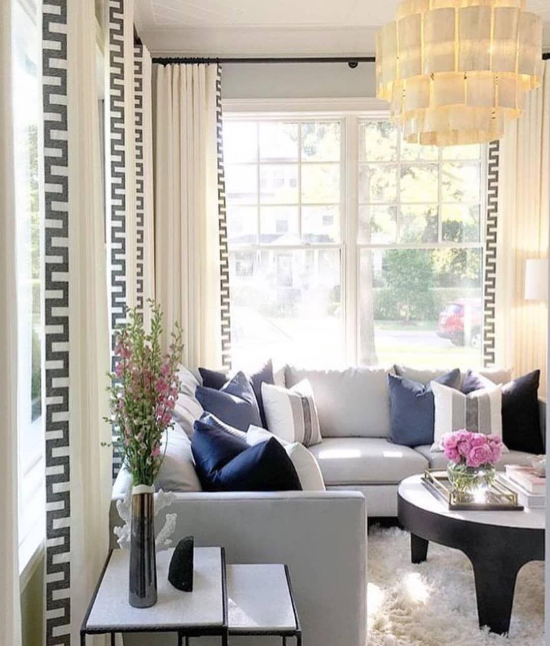 Schumacher Schumacher1889 Instagram Photos And Videos Living Room Blinds Curtains Living Room White Curtains #navy #living #room #curtains