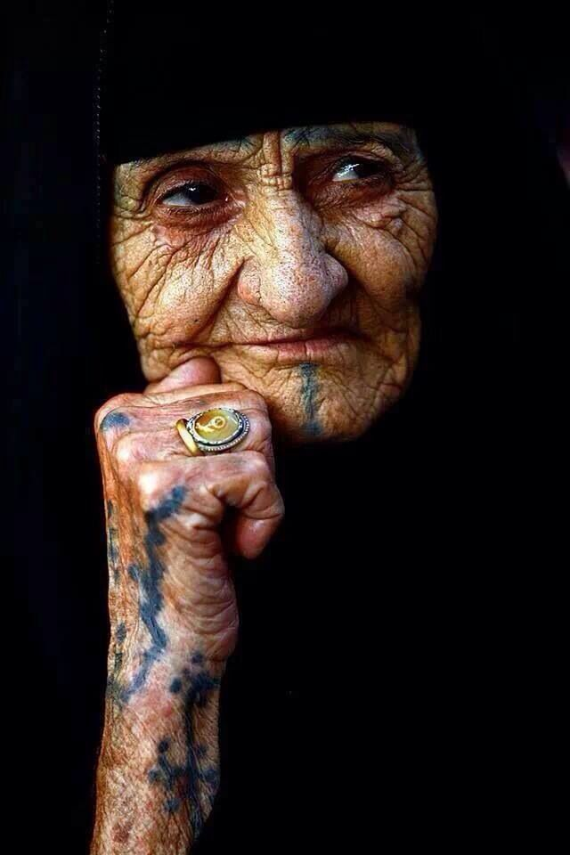 Pin By Nancy Wallace On Beautiful People Faded Tattoo Berber Tattoo Old Faces