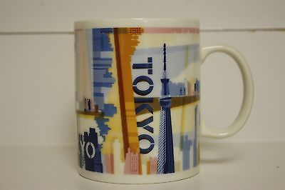 New 2013 Starbucks 14oz Tokyo Japan Ceramic Mug Coffee Tea