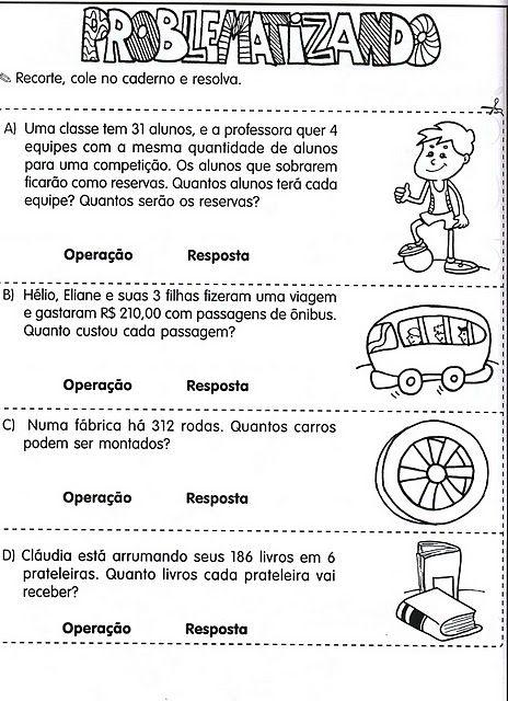 Problemas Convencionais Medidas De Comprimento Exercicios De Matematica Atividades De Matematica 3ano Probleminhas De Matematica