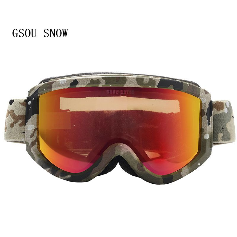 c049dc151fc GSOU SNOW Brand Winter Men Women comfortable Protection Professional Skate  Trendy handsome practical anti-fog