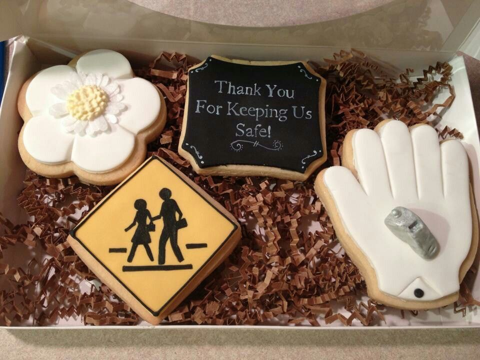 Gift for Crossing Guard cookies by  Jessica Guli