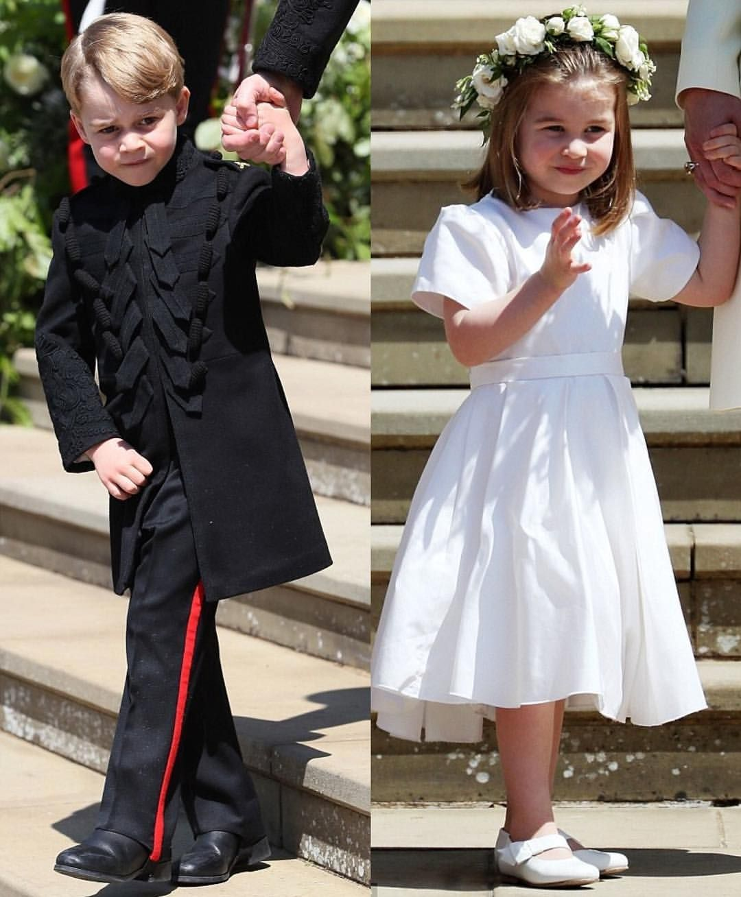 Prince George And Princess Charlotte Participate In Prince