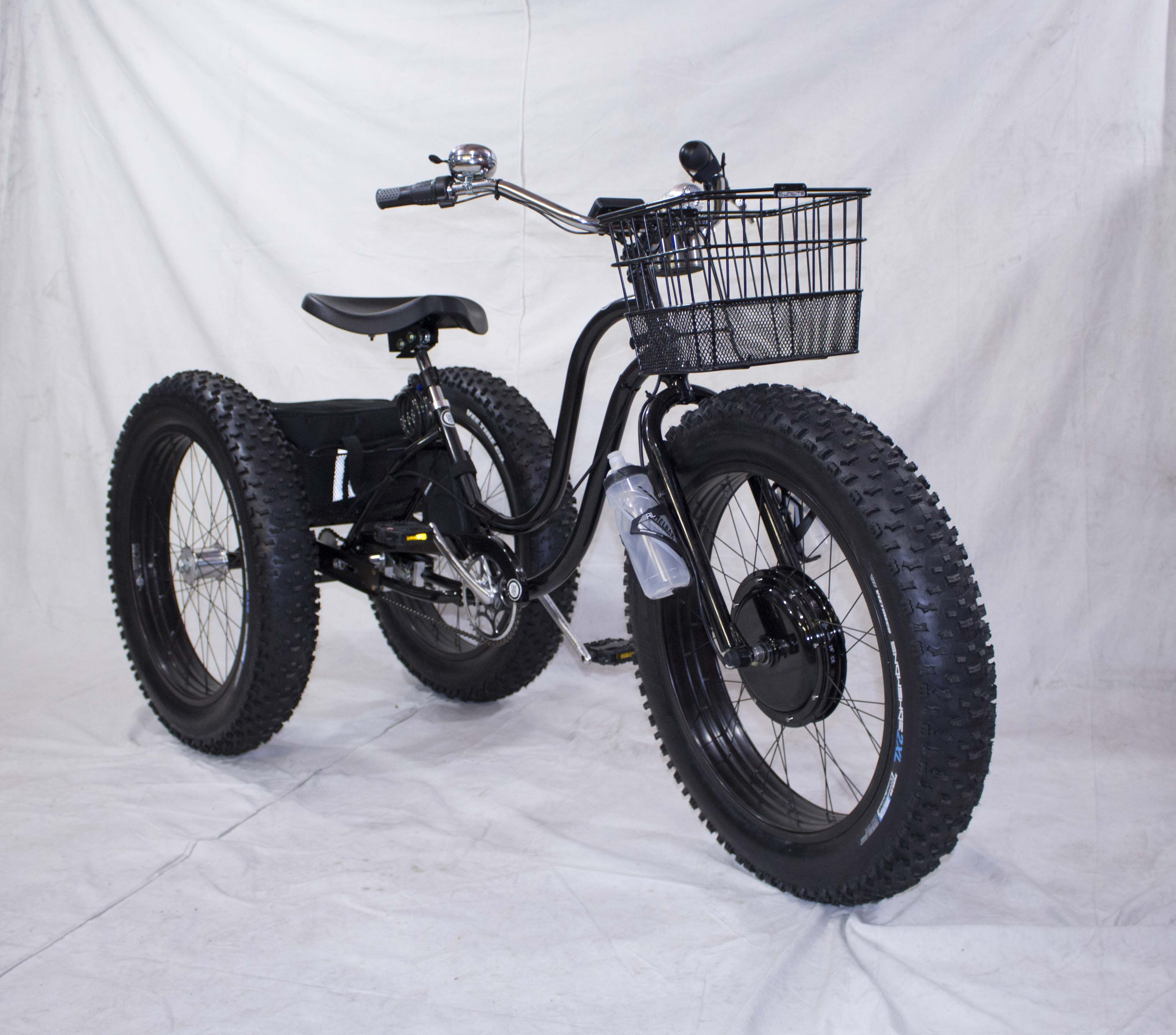 Electric Fat Tire Trike Adult Trike