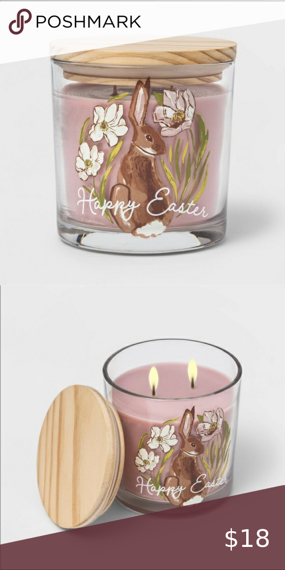 Happy Easter candle
