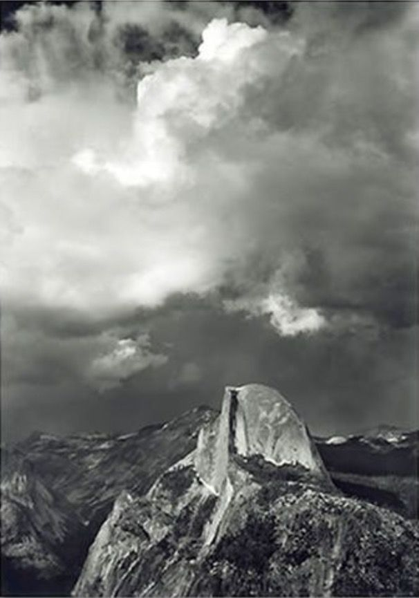 Half Dome From Glacier Point In 2020 Vintage Nature Photography Ansel Adams Nature Photography