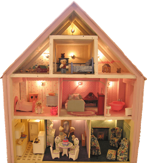 Dollhouse Decorating A Quick Way To Add Lights To Your Dollhouse