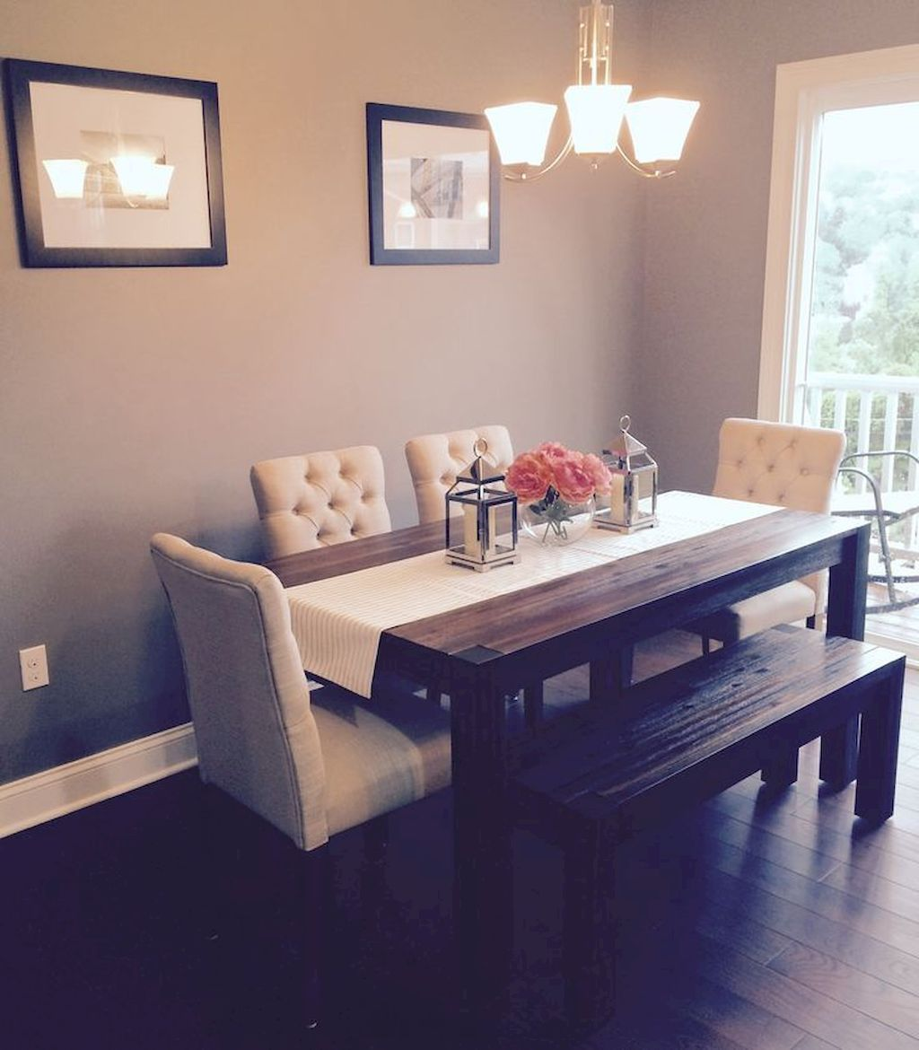 90 Amazing Small Dining Room Decor Ideas images