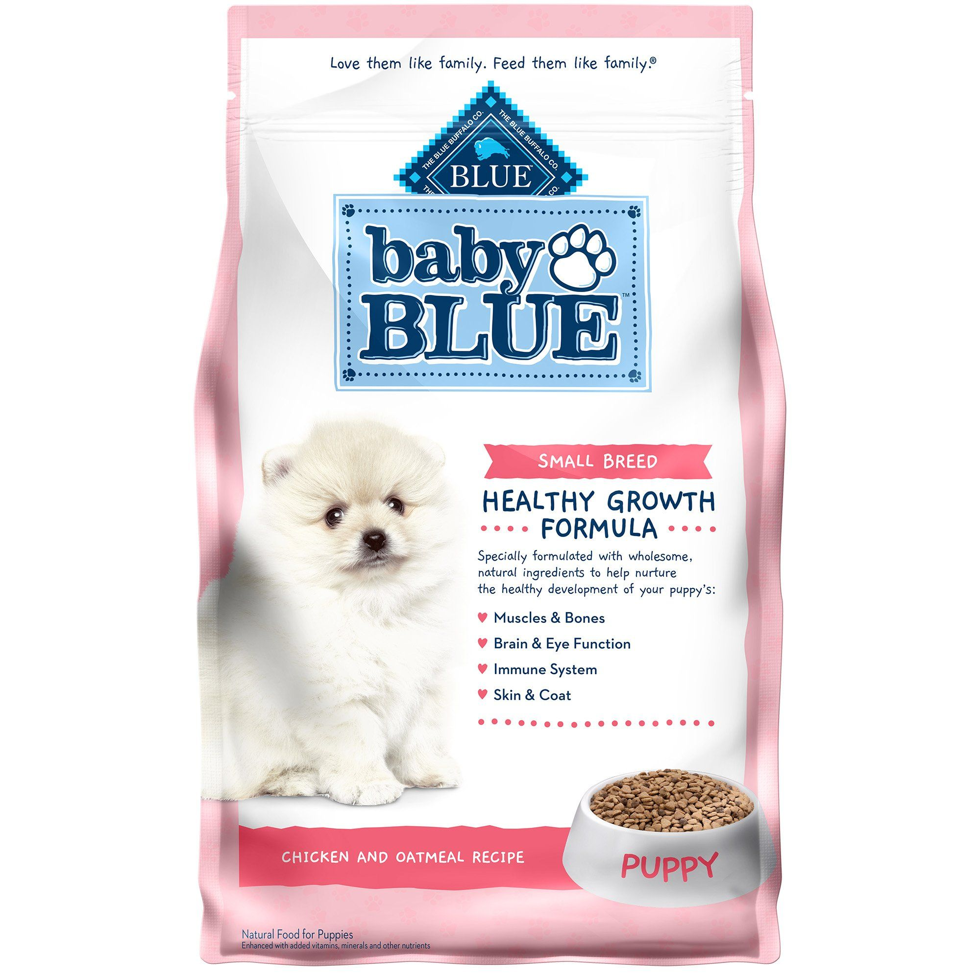 Blue buffalo baby blue natural small breed chicken and