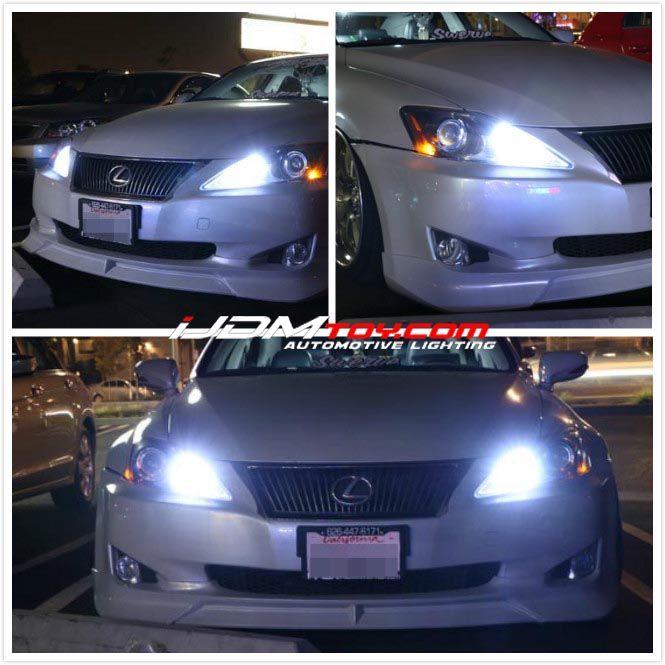 Lexus Is250 9005 Led Daytime Running Lights High Beam Kit Lexus Is250 Lexus High Beam
