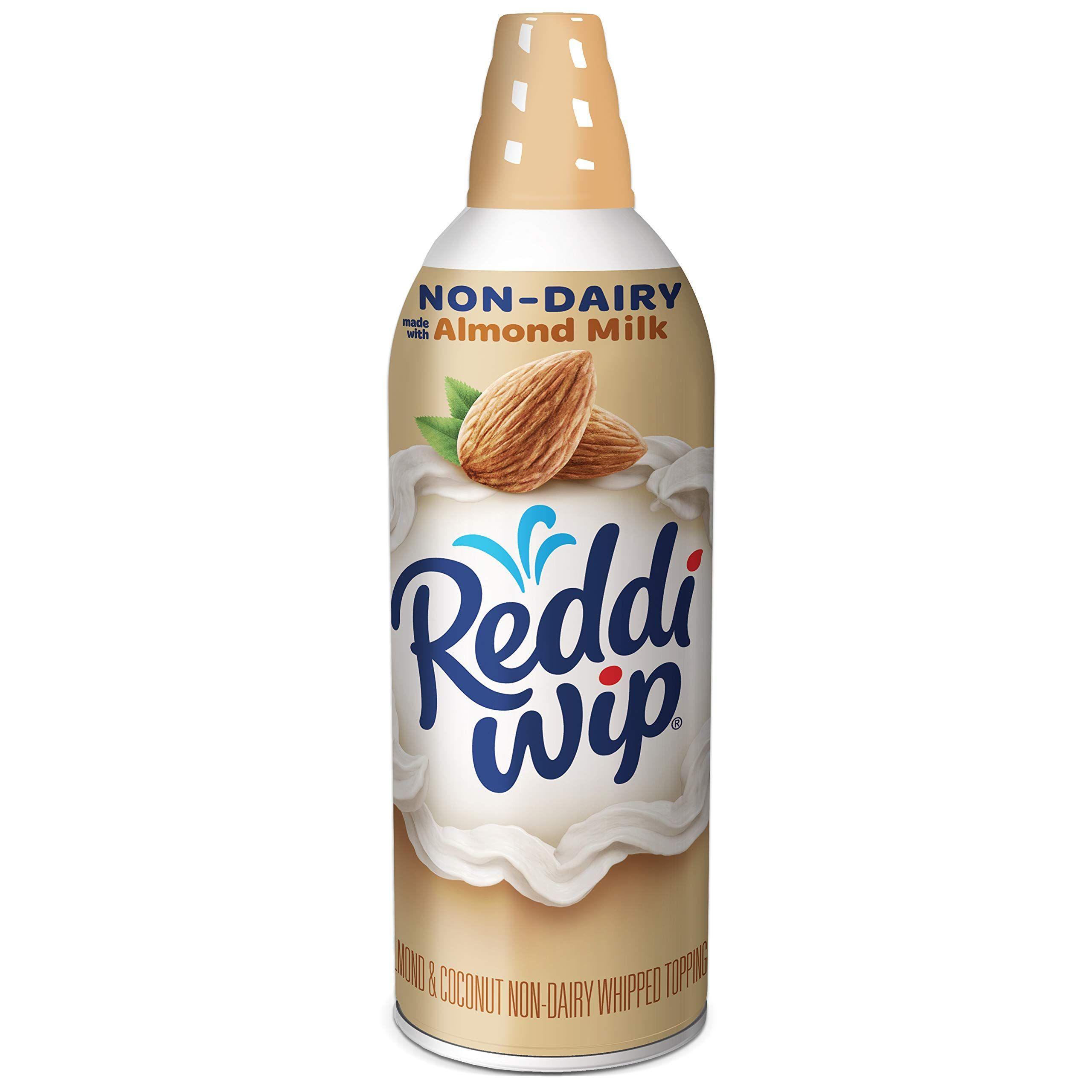 Reddiwip NonDairy Made with Almond Milk Vegan Whipped