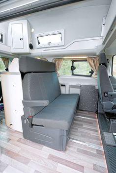 Westfalia Club Joker Gegen Ford Nugget Van Interior Campervan Interior Van Living