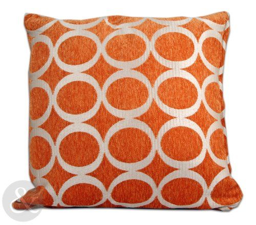 RETRO MODERN Chenille Cushions 2 SIZES Small Large Scatter