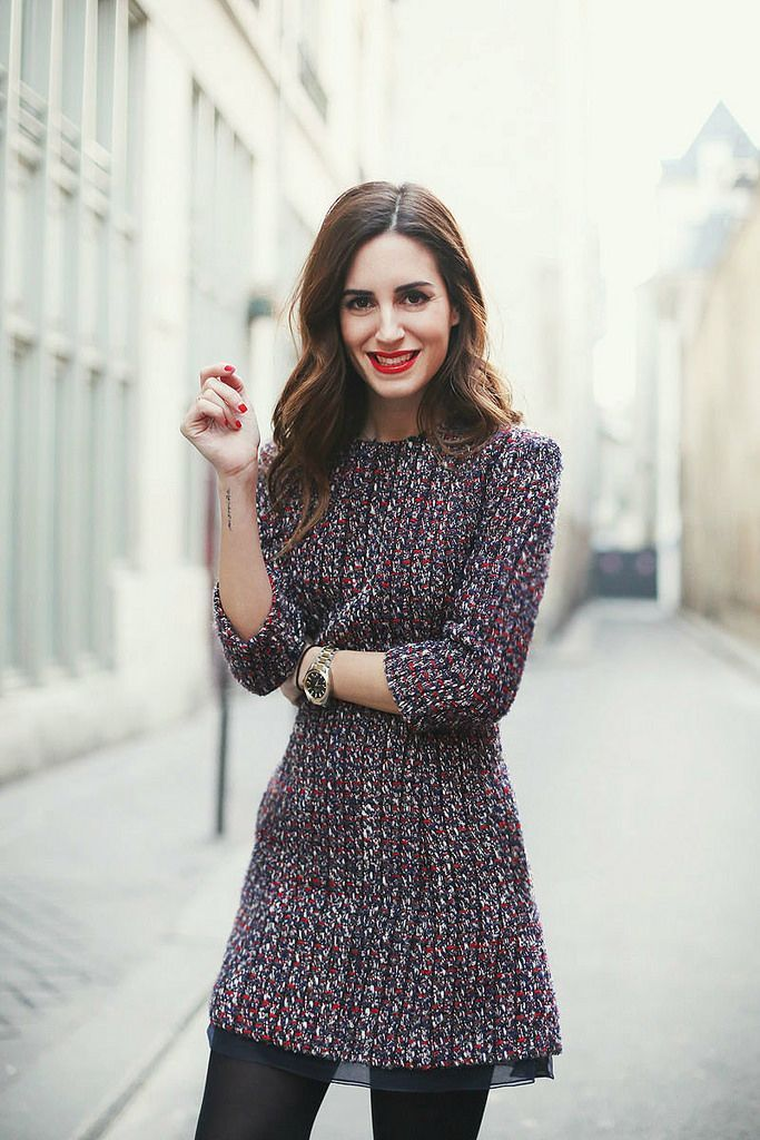 60402028f How to Wear Tweed in 2019 | clothes | Fashion, Tweed dress, Winter ...