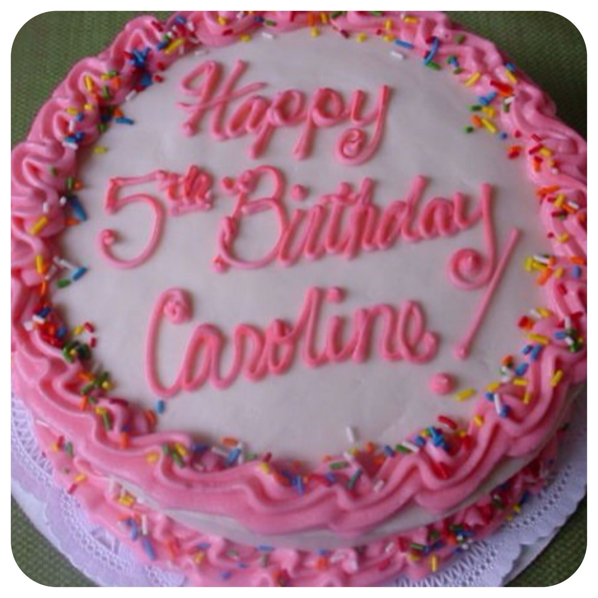 Happy Birthday Caroline (With Images)