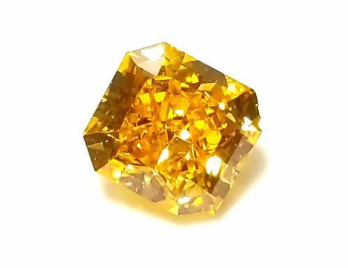 fb9a856bfb Zimi Diamond VVS2 - 0.59ct Natural Loose Fancy Vivid Orange Yellow Diamond  GIA