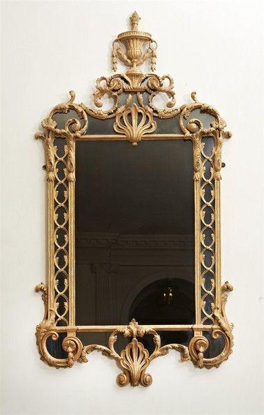 espejos giltwood George III c. 1790 Inglaterra