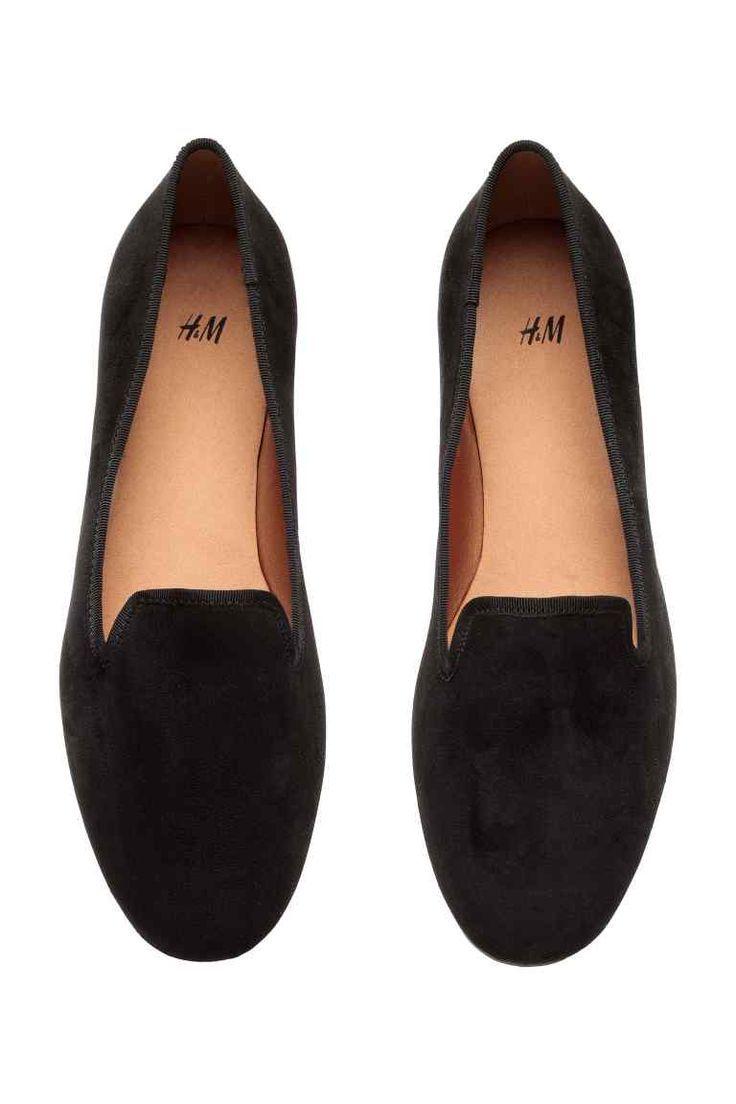 2018 amp;m Fr Mocassins Chaussures 2017 Femme Noir Tendance H qF0E8wn