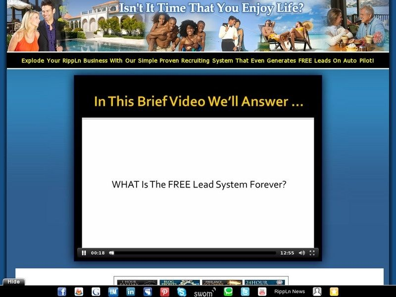 GRAB YOUR FREE LEAD SYSTEM FOREVER TODAY!
