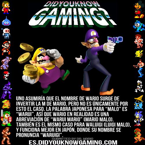Did You Know Gaming Mario Super Mario Bros Video Game Facts