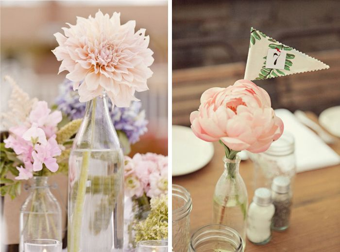 Floral centerpieces less is more just putting one full