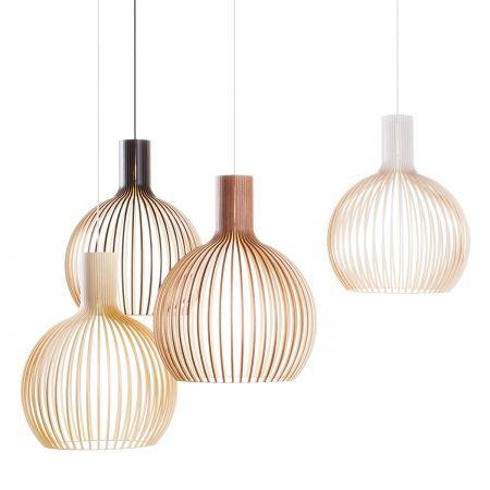 Suspensions bois, Secto Design | Deco luminaire, Luminaire