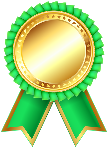 Green Award Rosette Png Clipar Image Ribbon Png Boarders And Frames Mother S Day Gift Card