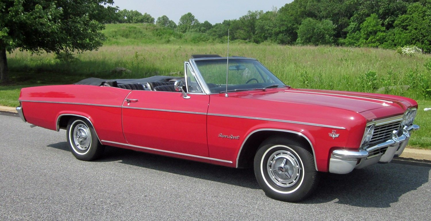 1966 Impala SS for Sale | 1966 Chevrolet Impala SS Convertible Red ...
