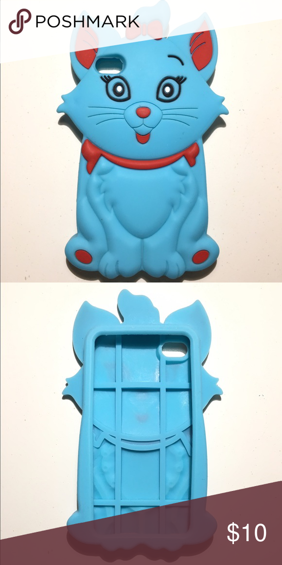 I-Phone 4 Cat Phone silicone Case Silicone I-phone 4 cat case Accessories Phone Cases