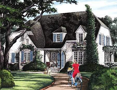 Plan 32612wp Four Or Five Bedrooms In 2020 Cottage Style House Plans Cottage House Plans English Country House Plans