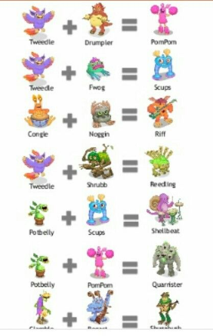 My singing monsters match, combinação, breeding my singing monster