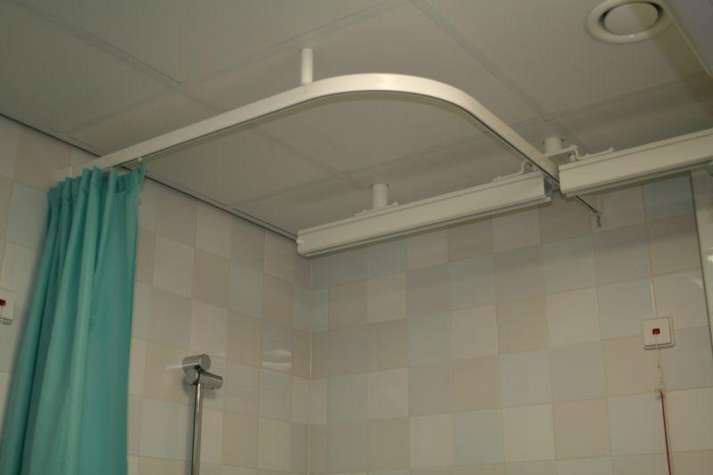 Shower Curtain Rails For Hospital Healthcare Curtain Rails