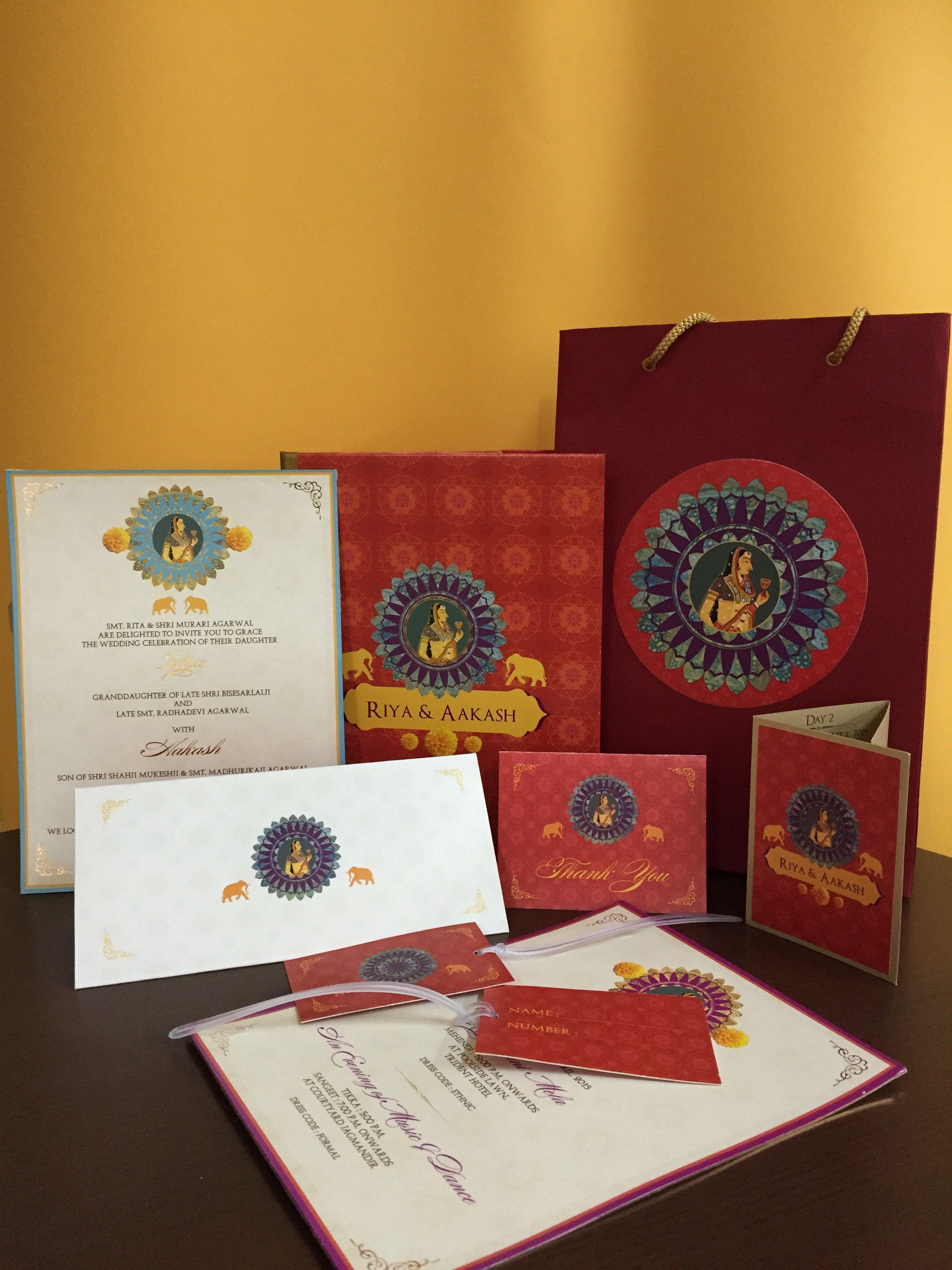 indian wedding invitation mumbai%0A A souveriner holder inside the invite by KRIMSON   Wedding Invitation Ideas    Pinterest