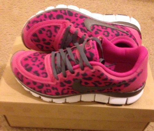 hot sale online 78260 493d1 Womens Nike Free 5 0 V4 Leopard Pink Size 6 0  eBay- I MUST