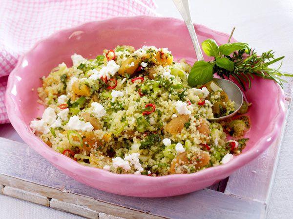 Salate zum Grillen - das schmeckt zu Würstchen, Steak & Co ...