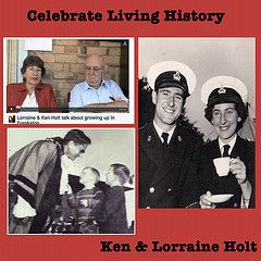 Ken & Lorraine Holt the super stars of Celebrate Living History class of 2012.