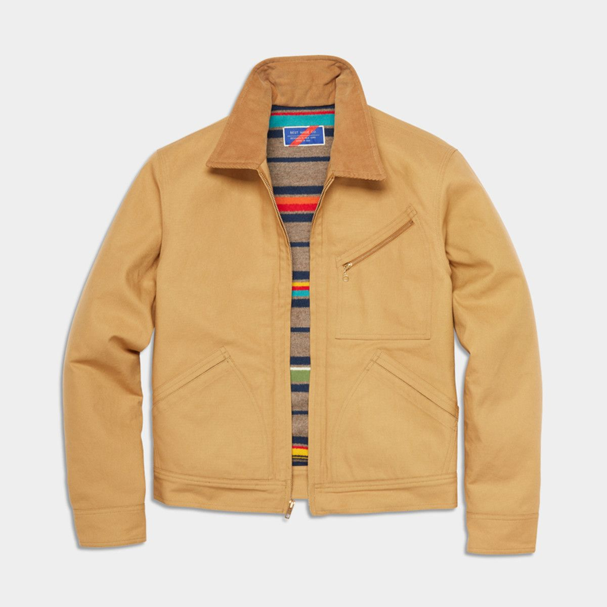 Best Made And Pendleton Team Up On A New Ranch Jacket Jackets Pendleton Cool Coats [ 1200 x 1200 Pixel ]
