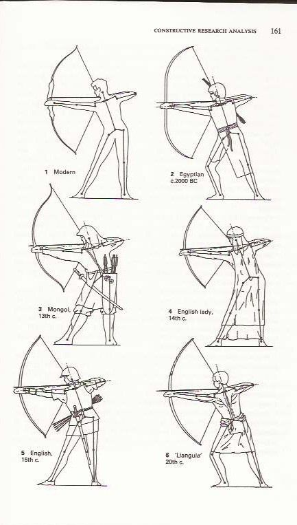 Scanned from Archery anatomy showing postures of shoulder being ...