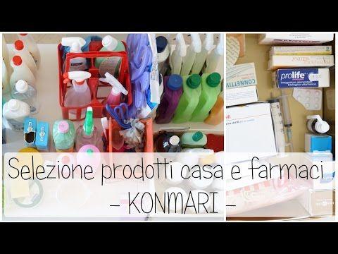 Selezione prodotti casa e farmacia - Marie Kondo - YouTube