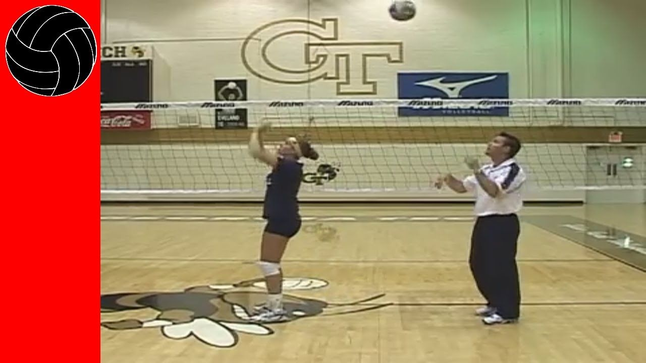 Volleyball How To Set A Quick Volleyball Humor Volleyball Volleyball Drills