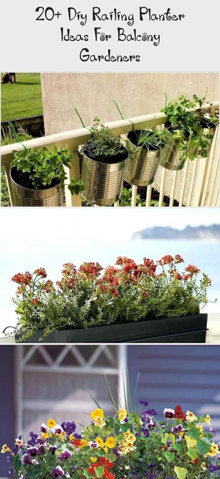 20 Diy Railing Planter Ideas For Balcony Gardeners Home Design