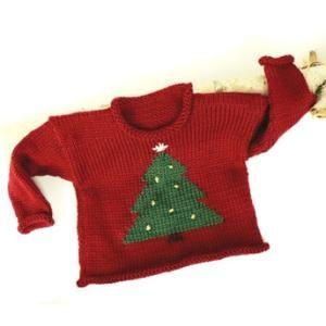 883aef741 Toddler Tree Pullover FREE Knitting Pattern by Caron