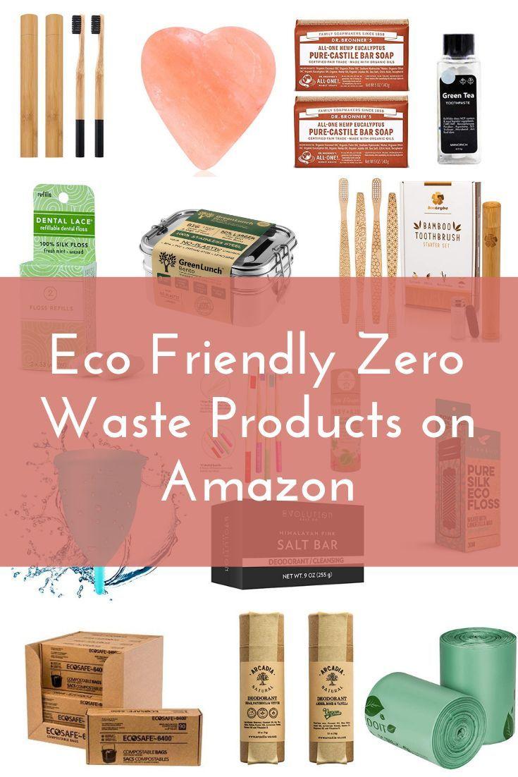 Eco Friendly Zero Waste Products on Amazon