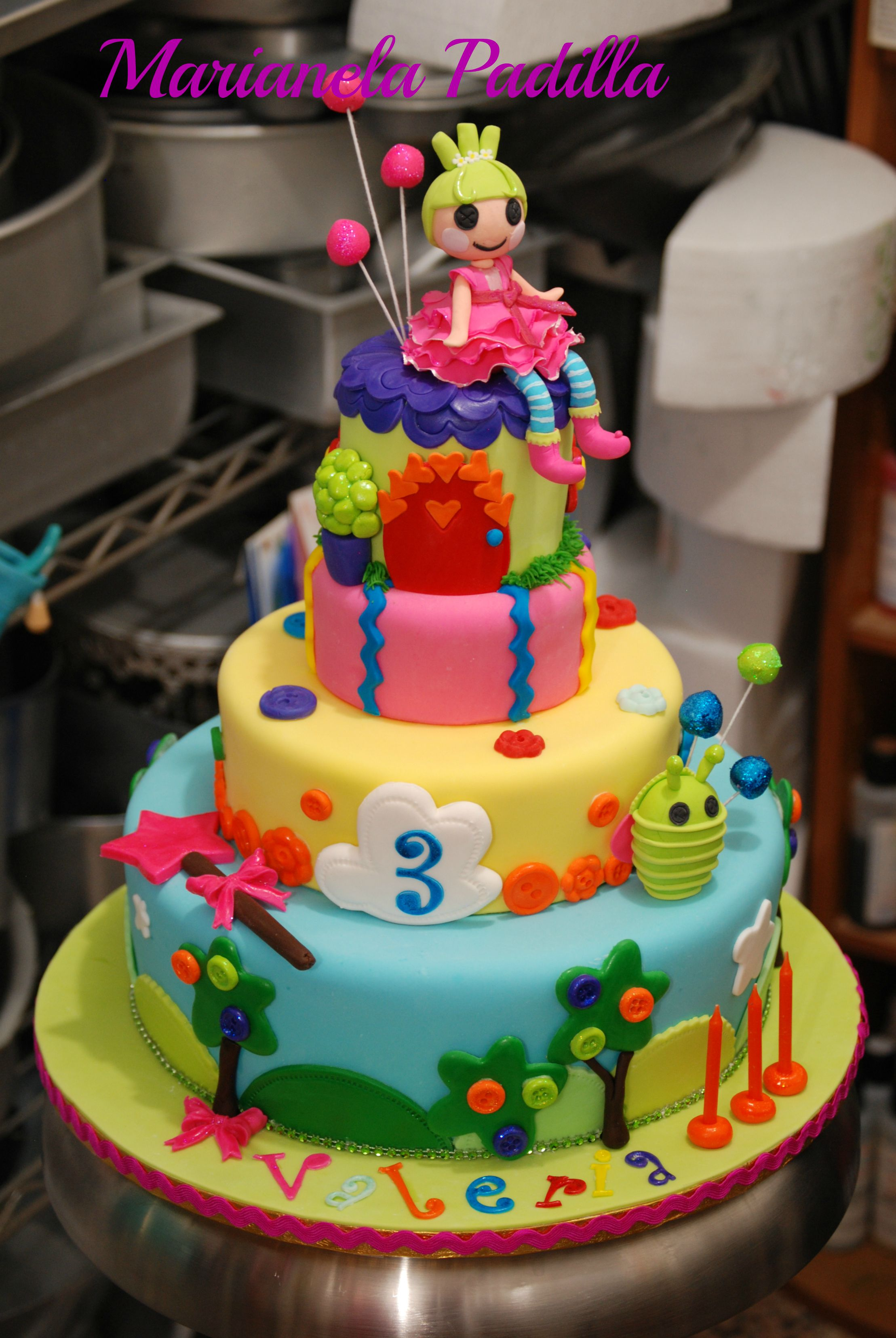 Lalaloopsy Birthday Cake This Cake Was Inspired By Other Cake