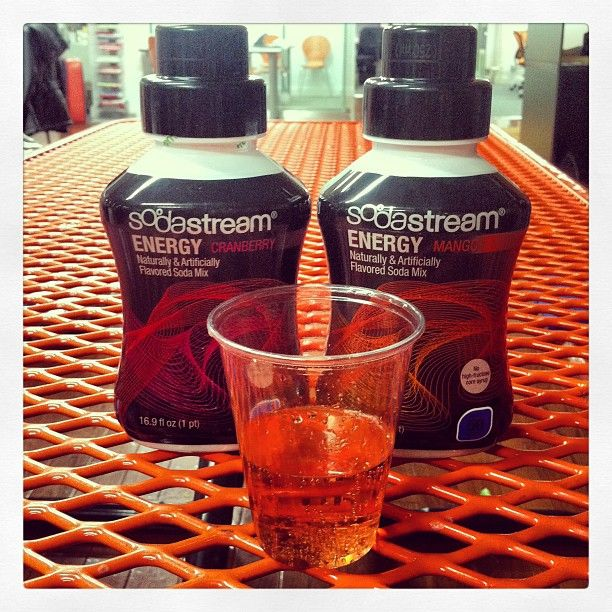 New Energy flavors! Who wants a sample? #SodaStream   Instagram ...