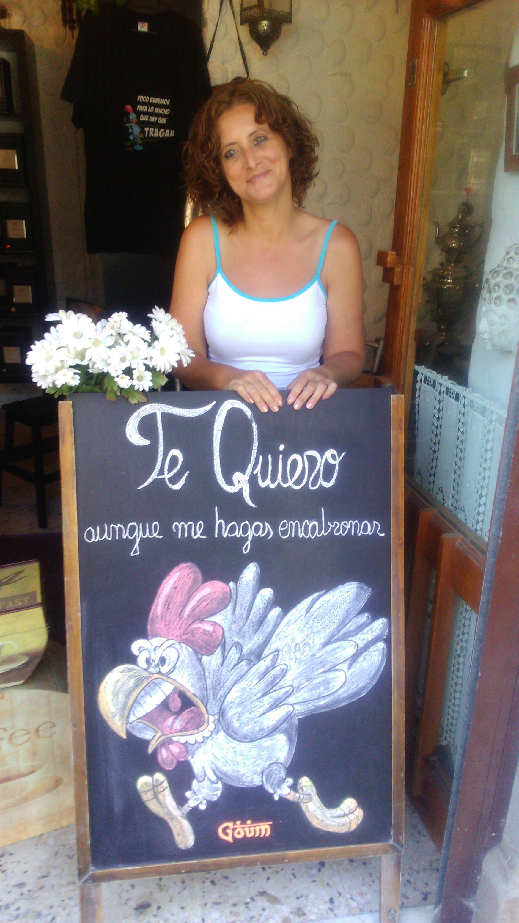 Con Mary Carmen Gonzalez Santana
