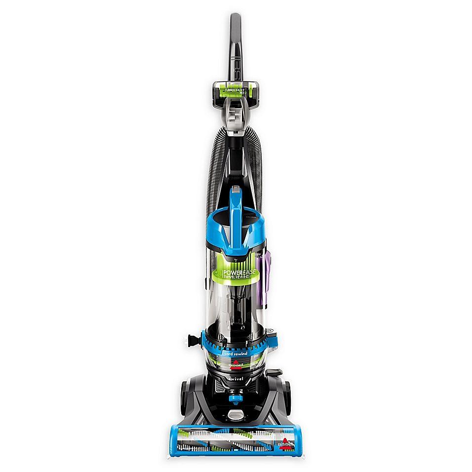 Bissell Powerease 2253 Swivel Rewind Pet Vacuum In Blue In 2020