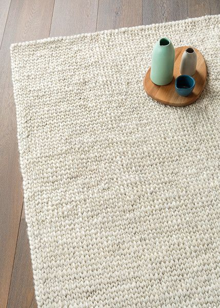 Hand Woven Braided Wool Rug Crafted By Individual S In India Using Sustainable Natural Fibers All Benefit Local Schools And Their
