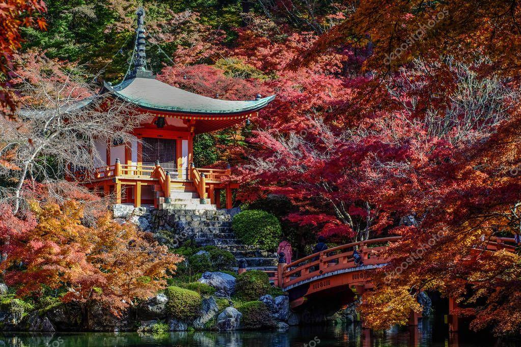 Autumn scenery in Kyoto, Japan - Stock Photo , #Affiliate, #Kyoto, #scenery, #Autumn, #Photo #AD #autumnscenery