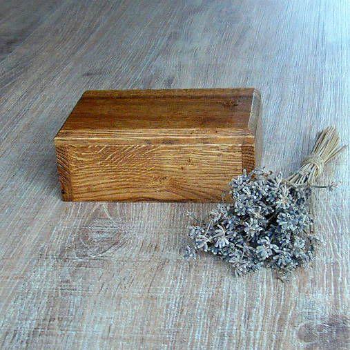 woodartAM / Dubová truhlička